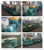 Máquina de dobramento de chapa hidráulica de 3 rolos com dobragem dupla W11S-10X3000
