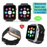 Telefoon van het Horloge Bluetooth van de manier de Waterdichte Slimme met SIM kaart-Groef Gt88