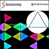 60X60cm SD Control DJ Light Effet de vision 3D LED Triangle Wall Panel Backdrop Light