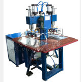 Machine gravante en relief de double de type cuir principal de PVC, machine de soudure de PVC