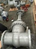 Norma DIN do Motor eléctrico de Aço Carbono Pn64 DN500 Válvula gaveta