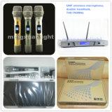 Professionele UHF Draadloze Microfoon (gelijkstroom-)