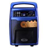 El Ce probó 12 pulgadas de la carretilla de altavoz plástico del MP3 con la batería