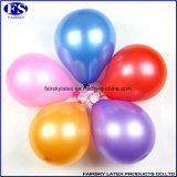 真珠気球12インチの乳液の、真珠の気球、点の気球