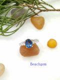 보석 Tanzanite 순은 반지 (R0280)