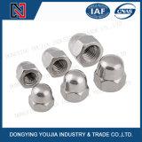 DIN1587 en acier inoxydable hexagoné à coques bombées