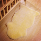 Soft Baby Blanket One Single Sheepskin Pelt