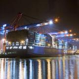 Santos 브라질에게 발송하는 국제적인 대양
