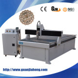 Madeira, acrílico, metal, anunciando o router do CNC da máquina de gravura