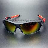 Späteste UVschutz-Sport-Gläser mit TPR neigt sich (SG128)