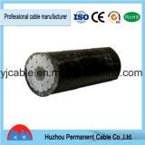 BVVB macizo plano de la envoltura del alambre del cable de cobre
