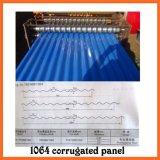 Dx utilizó el rodillo del panel de la azotea del metal que formaba la máquina