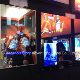 A3 Magic Mirror Crystal Publicidade LED Light Box
