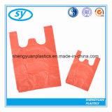 Kundenspezifische Drucken-Plastikshirt-Einkaufstasche