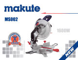1600W 255mm scie de coupe industrielle miter (MS002)