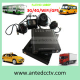4 Camera CCTV Video Surveillance System para Automotives Vans Taxis Helicopter