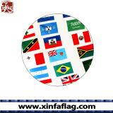폴리에스테 물결치는 깃발 또는 손 깃발 기치 광고하기