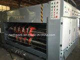 半自動導端の型抜き機械に細長い穴をつける挿入のflexoの印刷