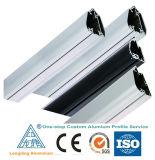 Perfil de alumínio de alimentação para parede Cortina / perfil de alumínio
