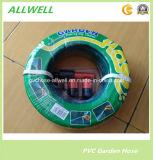 Boyau de jardin tressé flexible en plastique d'irrigation de l'eau de boyau de fibre de PVC