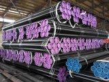 Tubo de acero inconsútil negro, ASTM A106 GR. Tubo pintado barniz de B Smls