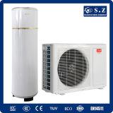 CE 3kw, 5kw, 7kw, pequeña pompa del certificado de Australia, Nueva Zelandia de calor caliente máxima de la agua 9kw 60c R410A 220V Cop4.2 para Dwh y la calefacción