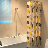 La flor PEVA de Sun impermeabiliza la cortina de ducha para el cuarto de baño