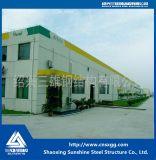 Solo almacén modificado para requisitos particulares palmo prefabricado de la estructura de acero