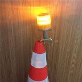 Clignotement du voyant de la sécurité routière trafic cône Témoin solaire