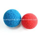 Esfera macia da esponja da limpeza da borracha de espuma para a limpeza da câmara de ar ou da tubulação