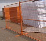 Cerca temporária revestida de PVC com alta qualidade