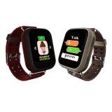 Het kleurrijke GPS van het Scherm van de Aanraking Bejaarde Horloge van de Drijver met de Monitor van het Tarief van het Hart D28