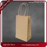 Marine-Blau-Kraftpapier-Papiertüten, Einkaufen, Mechandise, Partei, Geschenk-Beutel, vertikaler Packpapier-Einkaufen-Beutel