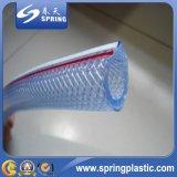 Mangueira de jardim flexível reforçada plástico da irrigação da água da mangueira do PVC