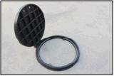 2017 крышка люка -лаза бензоколонки C/O D600mm FRP/GRP составная