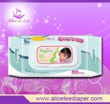 Couche jetable de bébé (ALS-80B)