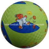 Jouets en caoutchouc colorés de Kickball d'animaux