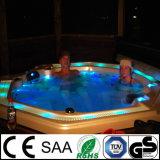 Роскошные LED горячая ванна джакузи на 7 человек (Ceres)