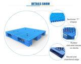 1200*1000 de gevormde Rekupereerbare Ingang van 4 Manier gebruikte Vlotte Plastic Pallet
