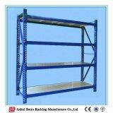 A prateleira média do dever da cremalheira de aço ajustável do armazenamento do Shelving, o ISO e a BV Certificated