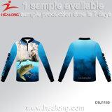 Schneller UVschutz-gesetzte Jersey-Kleidungs-Turnier-Großverkauf-Fischen-Hemden