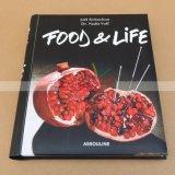 Impression de livre de cuisine d'impression de livre de recette