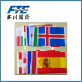 Nationale Vlaggen van de Landen van de douane de Verschillende Goedkope voor Olympische Spelen