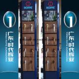 Aluminiuminnenbadezimmer-Tür mit dem unterschiedlichen Glasieren