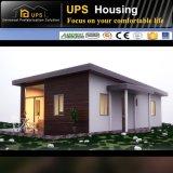 La casa de acero prefabricada de acero galvanizada caliente confiable más económica