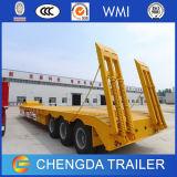 Трейлер пандуса трейлера кровати Tri Axle поставщика Китая низкий