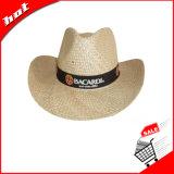 Sombrero de paja, sombrero de vaquero, sombrero de paja de hierbas marinas