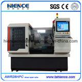 Fabricante Awr28hpc de la máquina del CNC del torno de la reparación de la rueda de la aleación de la alta calidad