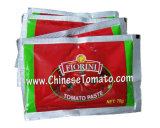 40g 50g 70g de Dubbele Geconcentreerde Tomatenpuree van het Sachet van de Tomaat