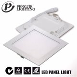 Luz del panel ultra delgada de 6W LED (cuadrado)